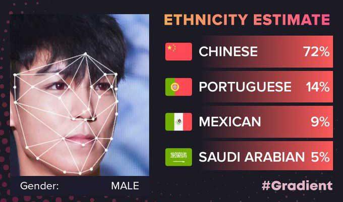 نرم افزار تشخیص نژاد و ملیت
