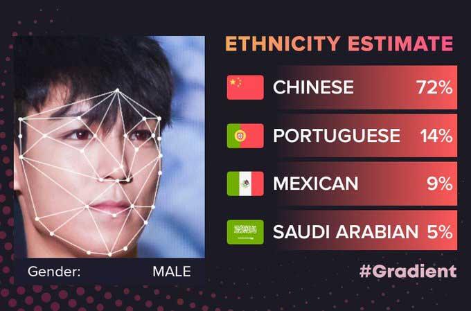 دانلود نرم افزار موبایل تشخیص ملیت و نژاد و تغییر چهره گردینت ...